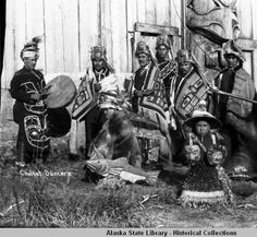 Chilkat Dancers. :: Alaska State Library-Historical Collections