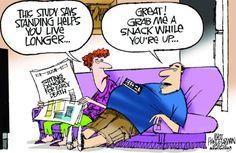 "Walt Handelsman cartoon (July 10, 2012) ""Stand Up!!!!!!"""