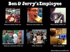 Ben & Jerry's Employee