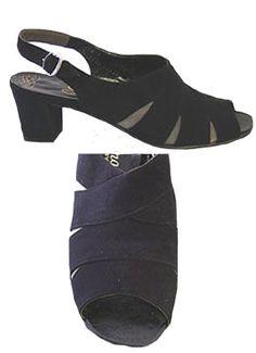 Florsheim Black Suede 60s Shoes