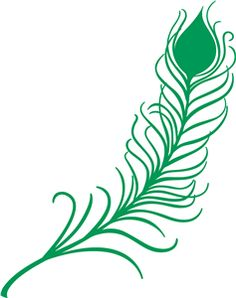 peacock feathers, silhouett, svg