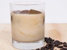 Healthy iced vanilla latte