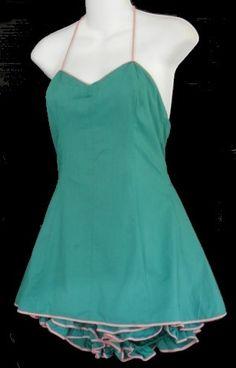 tina leser images | Tina Leser 1948 bathing suit