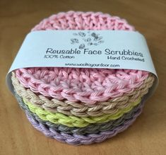 Free Pattern - Reusable Face Scrubbies