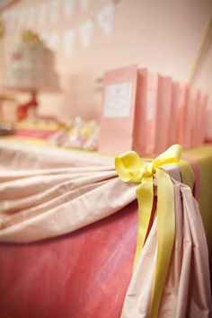 Hostess with the Mostess® - Modern Pink & Yellow Princess Party