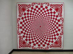 Quiltrascal: Red and White Vortex Part Two