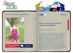 Check out February 2014 My Great Story of the Month Contest Winner, How I feel about the R Word and Others, by Olivia Brosseau of Glover, VT! Share your story at ndss.org/stories.