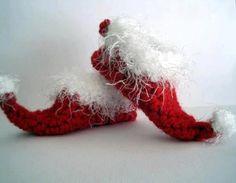 Crochet Elf Slippers *Inspiration*