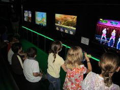 "$249 for a 2Hr Weekend Birthday Party! Packages include: - Up to 30 invitations, - Coupon for HALF PRICE 6 Dollar PIZZA at Papa John's. - A Game Coach to assist with your party. - FREE use of Rockin' Rollin' Video Game Party's  entire video game library during your party! - FREE use of Four Xbox 360 systems, Four Wii systems, one PlayStation 3 and four 46"" Sony wide screen TVs during your party. - A FREE flashing medallion necklace or glowing sword for the guest of honor."