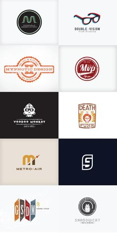 The Logo Portfolio of J. Garner Design