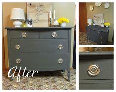 life {illustrated}: Refinished Dresser Decor, Stuff, Color, Bit Crafti, Refinishing Dressers, Diy, Refinish Dresser, Bedroom, Life Illustr