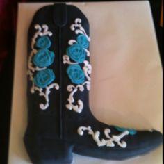 Cowgirl Boot Cake  :)