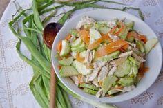 thai cucumb, salad recipes, chicken salads, thai chicken, thai salad, cucumber salad, cucumb salad, summer salads, chicken cucumb