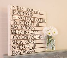 I like it!  Simple DIY decor for a country home...
