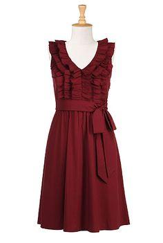 Frill Dress #2dayslook #watsonlucy723 #lily25789 #FrillDress www.2dayslook.com