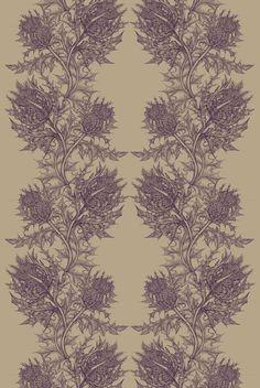thistle | timorous beasties fabric