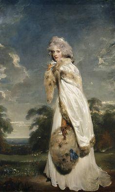Sir Thomas Lawrence - Elizabeth Farren, later Countess of Derby [1790]