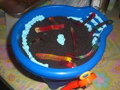 Cub scout cake bake. Bucket of dirt