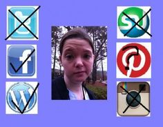 Mom de Plume: Tweet This.  Blog post about how social networking is annoying. social network, de plume, blog post, mom de