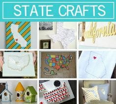 50 State Crafts - show your pride! (via @CraftFoxes)