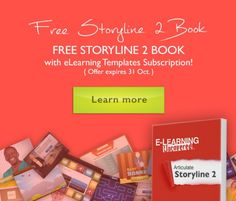 FREE Articulate Storyline 2 Book with eLearning Templates Subscription  http://elearningbrothers.com/free-articulate-storyline-2-book-with-elearning-templates-subscription/  #elearning #storyline2 #ArticulateStoryline  #eLearningTemplates #eLearningBook