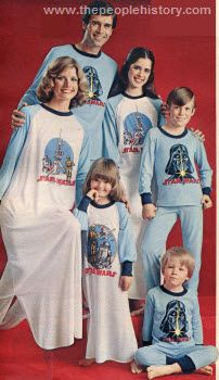 Star Wars Family Pajamas 1978