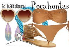 Pocahontas by disneybound