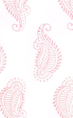 Taj Paisley in Pink from @rikshawdesign