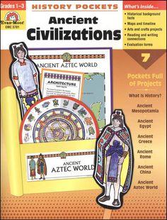 History Pockets - Ancient Civilizations | $11