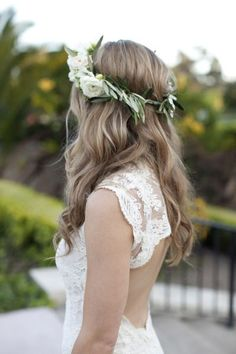 Perfectly Tousled Wedding Day Waves: http://www.stylemepretty.com/california-weddings/monterey/2014/10/17/classic-black-tie-wedding-at-club-del-monte/ | Photography: Colleen Riley - http://www.colleenrileyphotography.com/