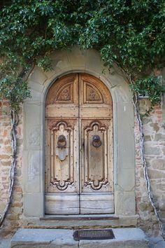 Tuscan door.