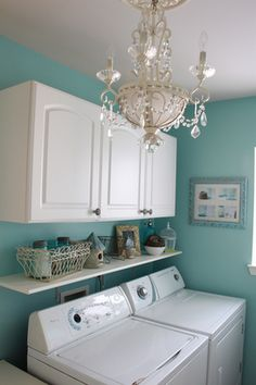 Now that's a laundry room!