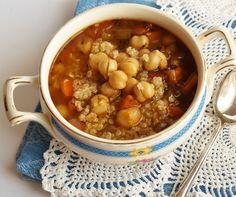 Spring Fever Chickpea Quinoa Soup