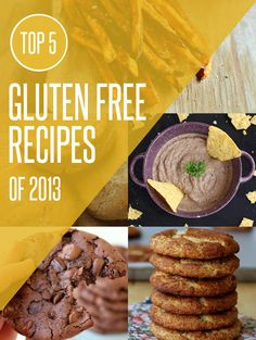 Top 5 Most Popular Gluten Free Recipes of 2013 on NoshOn.It