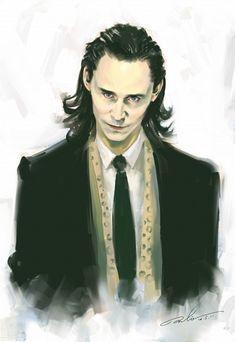 joker fanart, avengers anime, fangirl, loki fanart, tom hiddlestonloki