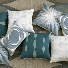Beautiful throw pillows!
