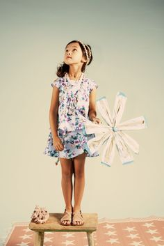 SS12 Hot-house florals by Kenzo Kids