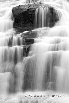 Bond Falls in the Upper Peninsula of Michigan.