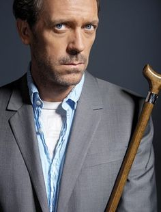 "Hugh Laurie!!!! Ever since Dr. House did the segment on ""It was Lupus"" I loved him more.  Really getting into his music.  Lovely steel blue eyes to gaze into!!!!!"