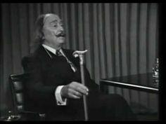 Entrevista a Salvador Dalí - A Fondo (1977) spanish grammar, el art, salvador dalí, enseñando español, spanish class
