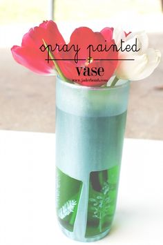 How to Spay Paint a Vase