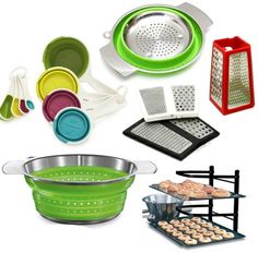 Collapsable kitchen things