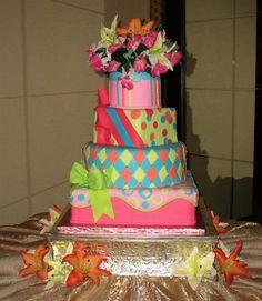 una de las tortas que vi para mi cumple de 15