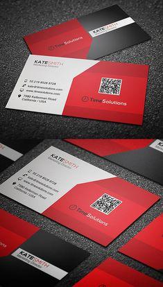 Clean Business Card #businesscards #businesscardtemplates #printready #corporatedesign