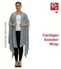 Wrap Cardigan: Must-have Womens Fall Top