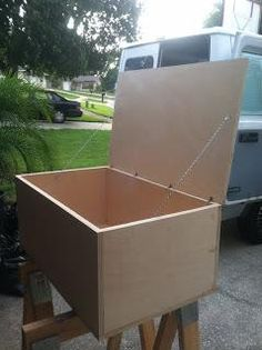 DIY Build an Upholstered Storage Ottoman DIY Furniture