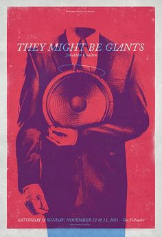 They Might Be Giants - gig poster