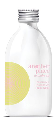Another Place geranium and lemongrass body wash - 300ml. £11.50