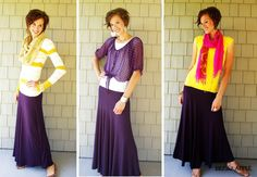 How do you wear your #maxi skirt? dressy, casual, summer, winter?