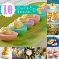 This is great for Easter.. I never thought of this way to do Deviled Eggs.  What an awesome idea... :)